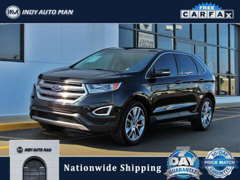 2015 Ford Edge for sale at INDY AUTO MAN in Indianapolis IN