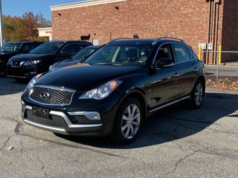 2017 Infiniti QX50 for sale at Ludlow Auto Sales in Ludlow MA