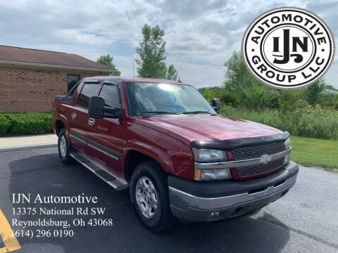 2005 Chevrolet Avalanche for sale at IJN Automotive Group LLC in Reynoldsburg OH