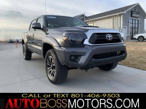 2015 Toyota Tacoma for sale at Auto Boss in Woodscross UT