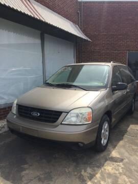 2005 Ford Freestar for sale at Village Auto Center INC in Harrisonburg VA