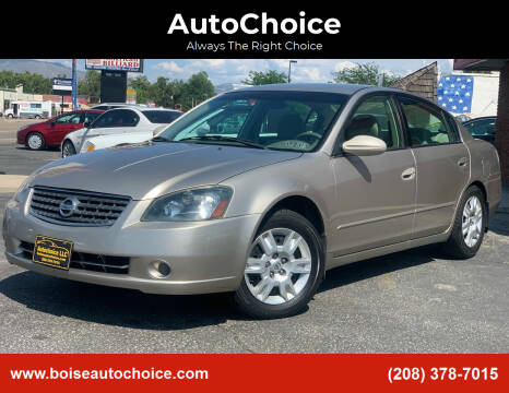 2006 Nissan Altima for sale at AutoChoice in Boise ID