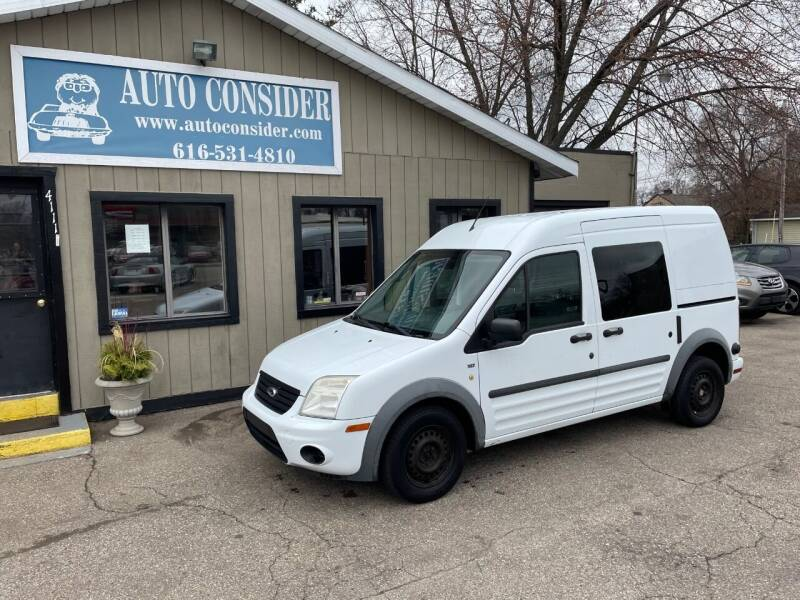 2013 Ford Transit Connect for sale at Auto Consider Inc. in Grand Rapids MI