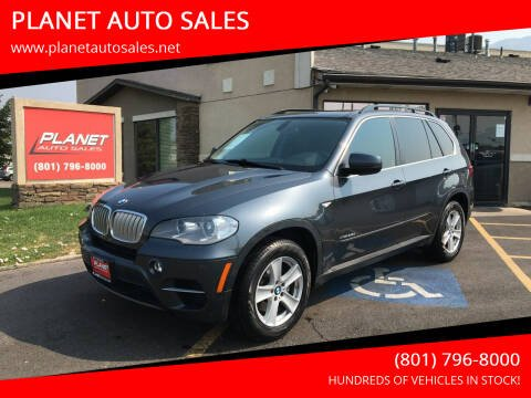 2013 BMW X5 for sale at PLANET AUTO SALES in Lindon UT