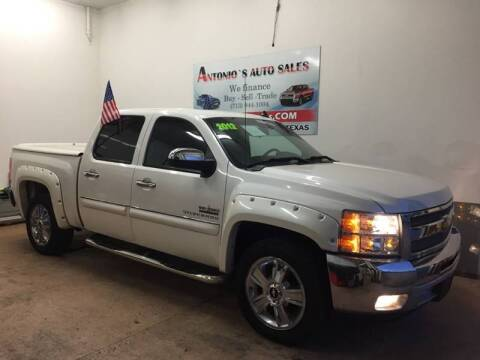 2012 Chevrolet Silverado 1500 for sale at Antonio's Auto Sales - Antonio`s  2206 in Pasadena TX