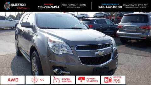 2012 Chevrolet Equinox for sale at Quattro Motors 2 in Farmington Hills MI
