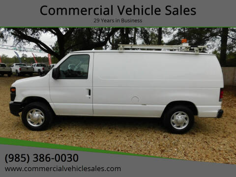 2012 Ford E-Series Cargo for sale at Commercial Vehicle Sales in Ponchatoula LA
