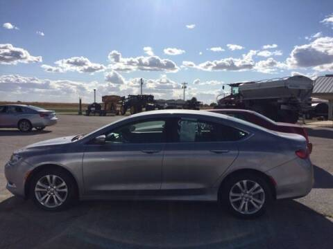 2015 Chrysler 200 for sale at THEILEN AUTO SALES in Clear Lake IA