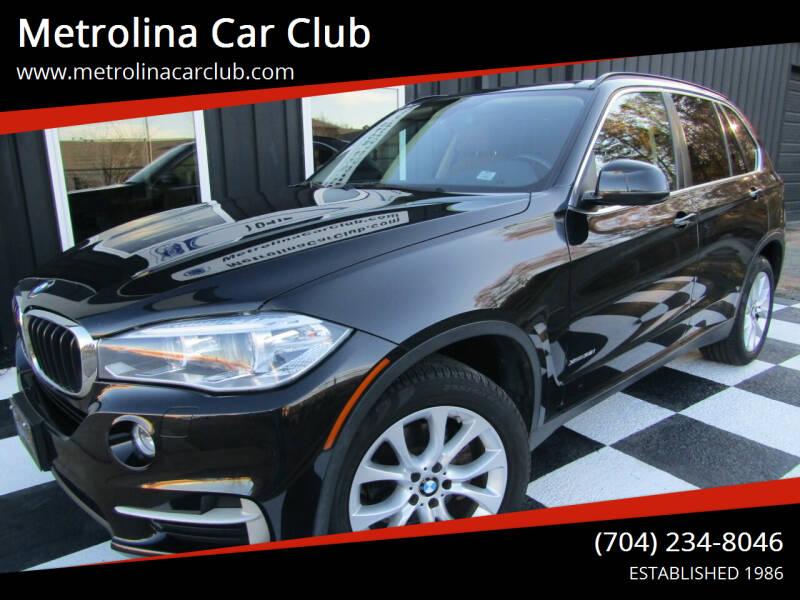2016 BMW X5 for sale at Metrolina Car Club in Matthews NC
