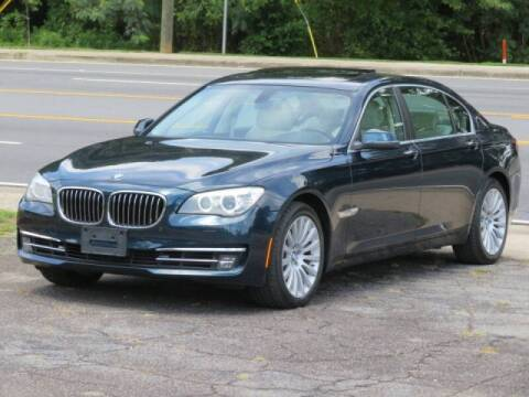 2013 BMW 7 Series for sale at Marietta Auto Mall Center in Marietta GA
