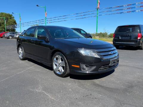 2011 Ford Fusion for sale at Northstar Auto Sales LLC in Ham Lake MN