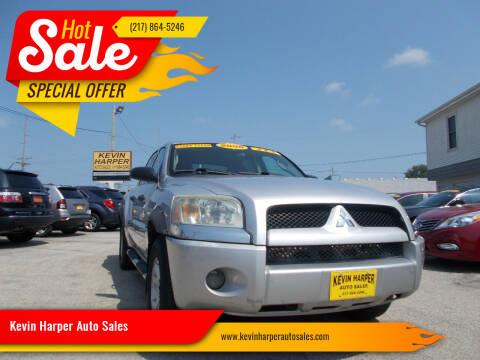 2006 Mitsubishi Raider for sale at Kevin Harper Auto Sales in Mount Zion IL
