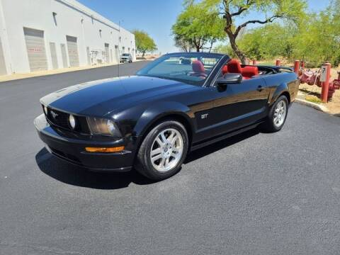 2005 Ford Mustang for sale at NEW UNION FLEET SERVICES LLC in Goodyear AZ