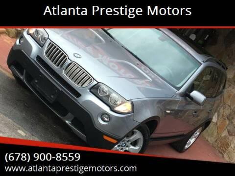 2007 BMW X3 for sale at Atlanta Prestige Motors in Decatur GA