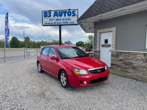 2008 Kia Spectra for sale at 83 Autos in York PA