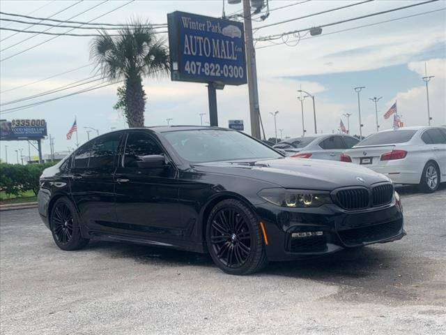 2017 BMW 5 Series for sale at Winter Park Auto Mall in Orlando FL