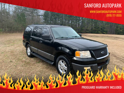2003 Ford Expedition for sale at Sanford Autopark in Sanford NC