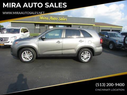 2014 Kia Sorento for sale at MIRA AUTO SALES in Cincinnati OH