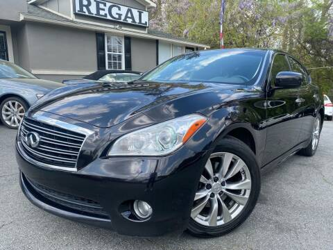 2012 Infiniti M37 for sale at Regal Auto Sales in Marietta GA