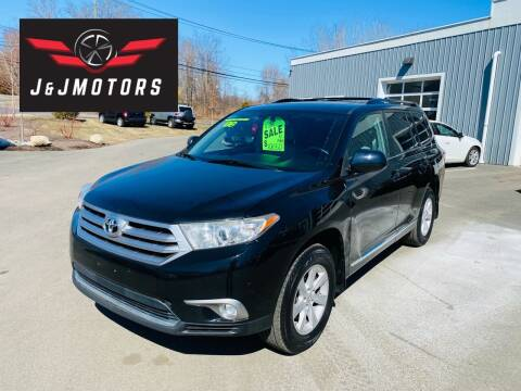 2012 Toyota Highlander for sale at J & J MOTORS in New Milford CT