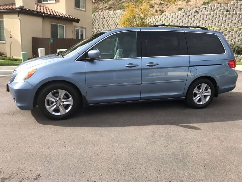 2008 Honda Odyssey for sale at CALIFORNIA AUTO GROUP in San Diego CA