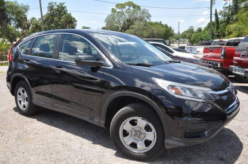 2015 Honda CR-V for sale at Elite Motorcar, LLC in Deland FL