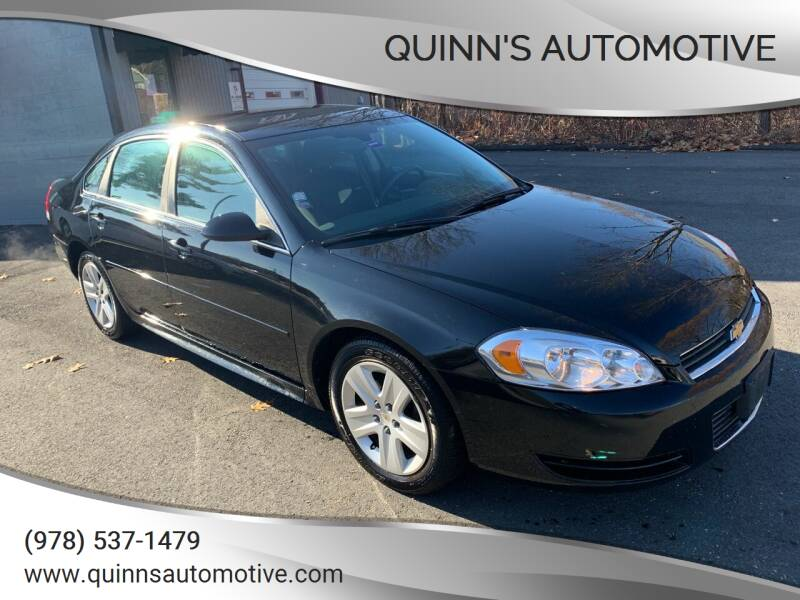 2011 Chevrolet Impala for sale at QUINN'S AUTOMOTIVE in Leominster MA