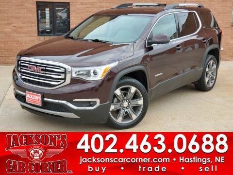 2018 GMC Acadia for sale at Jacksons Car Corner Inc in Hastings NE