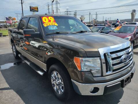 2009 Ford F-150 for sale at Texas 1 Auto Finance in Kemah TX