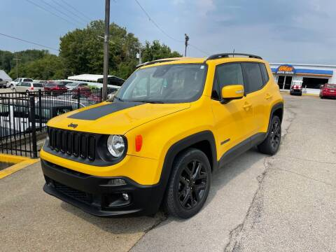 2018 Jeep Renegade for sale at Greg's Auto Sales in Poplar Bluff MO