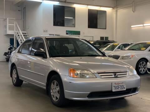 2003 Honda Civic for sale at AutoAffari LLC in Sacramento CA