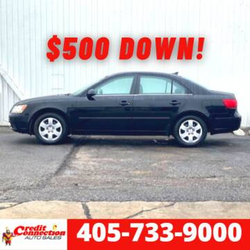 2009 Hyundai Sonata for sale at Credit Connection Auto Sales in Midwest City OK