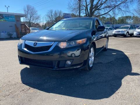 2010 Acura TSX for sale at Atlantic Auto Sales in Garner NC