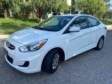 2015 Hyundai Accent for sale at Donada  Group Inc in Arleta CA