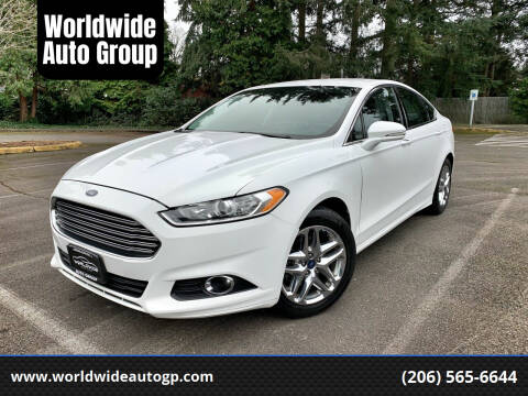 2013 Ford Fusion for sale at Worldwide Auto Group in Auburn WA