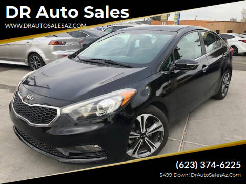 2015 Kia Forte for sale at DR Auto Sales in Glendale AZ