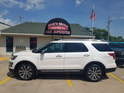 2017 Ford Explorer for sale at DICK'S MOTOR CO INC in Grand Island NE