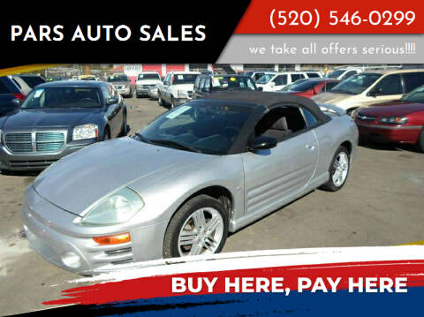 2004 Mitsubishi Eclipse Spyder for sale at PARS AUTO SALES in Tucson AZ