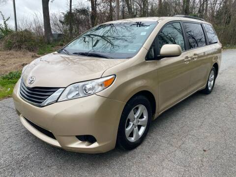 2012 Toyota Sienna for sale at Speed Auto Mall in Greensboro NC