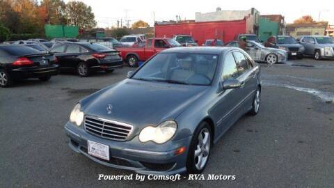 2005 Mercedes-Benz C-Class for sale at RVA MOTORS in Richmond VA