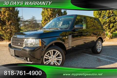 2011 Land Rover Range Rover for sale at Prestige Auto Sports Inc in North Hollywood CA