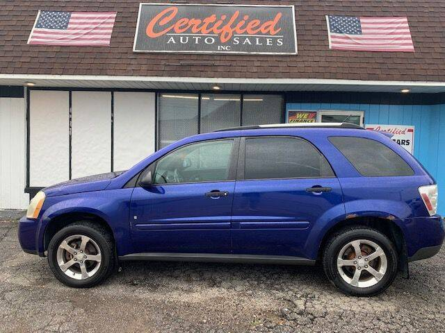 2007 Chevrolet Equinox for sale at Certified Auto Sales, Inc in Lorain OH