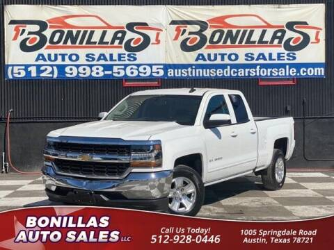 2019 Chevrolet Silverado 1500 LD for sale at Bonillas Auto Sales in Austin TX