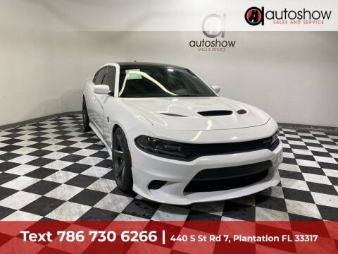2018 Dodge Charger for sale at AUTOSHOW SALES & SERVICE in Plantation FL