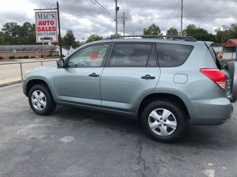 2007 Toyota RAV4 for sale at Mac's Auto Sales in Camden SC