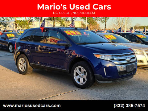 2013 Ford Edge for sale at Mario's Used Cars in Houston TX