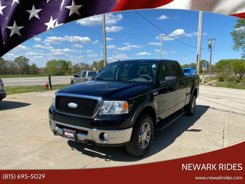 2007 Ford F-150 for sale at Newark Rides in Newark IL