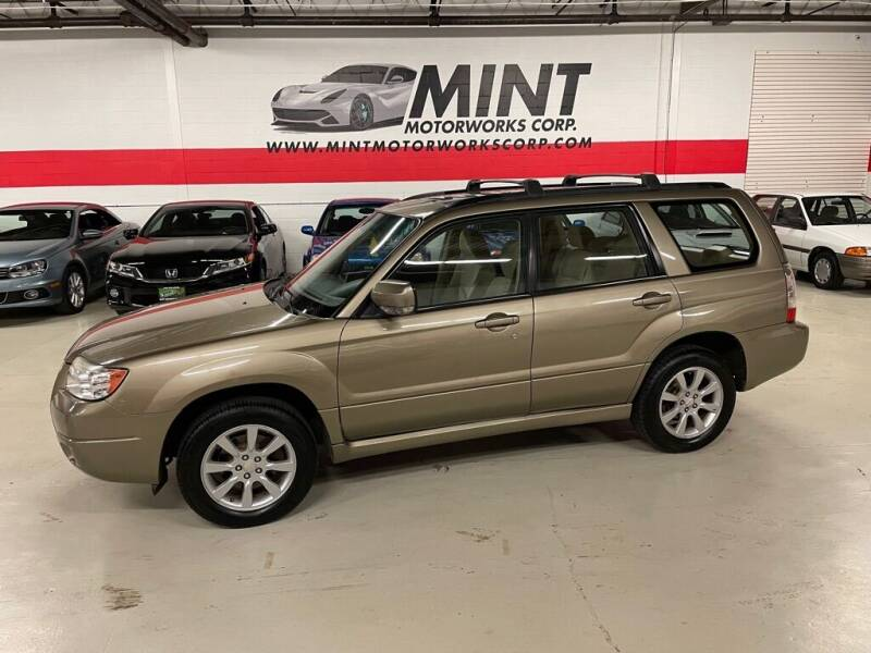 2008 Subaru Forester for sale at MINT MOTORWORKS in Addison IL