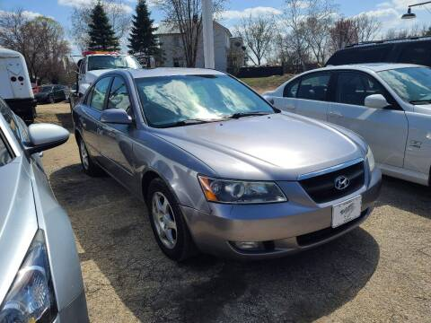 2006 Hyundai Sonata for sale at Nelson's Straightline Auto - 23923 Burrows Rd in Independence WI