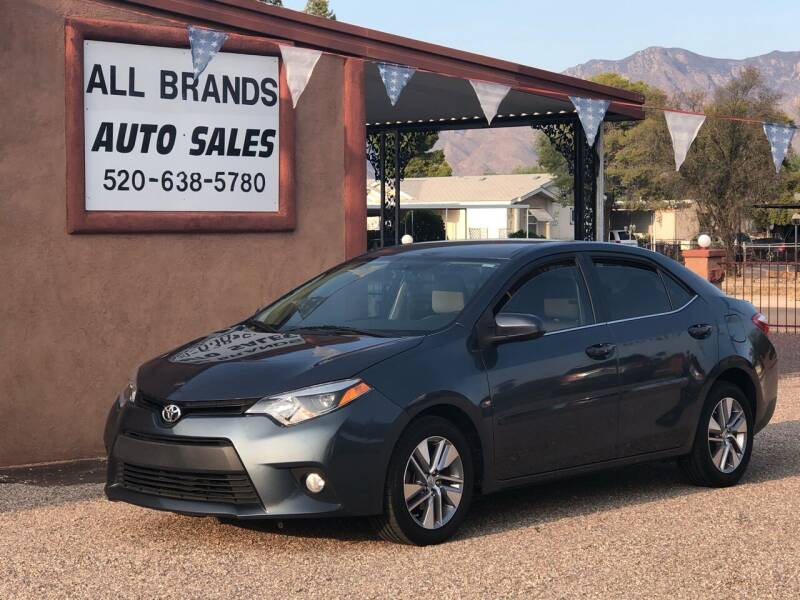 2014 Toyota Corolla for sale at All Brands Auto Sales in Tucson AZ